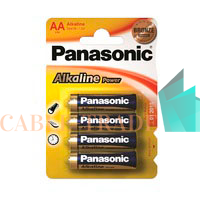Элемент питания LR6 Alkaline Power 4BP (блист.4шт) Panasonic 5410853032984