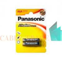 Элемент питания LR03 Alkaline Power 2BP (блист.2шт) Panasonic 5410853042907