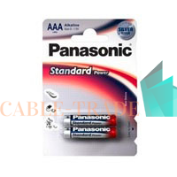 Элемент питания LR03 Standard\EVERYDAY BP-2 (блист.2шт) Panasonic 5410853024750